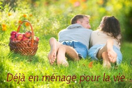 Pour les couples mariés ou en ménage, vivant maritalement