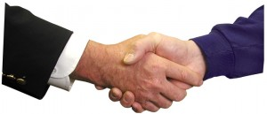 handshake - bonnes relations
